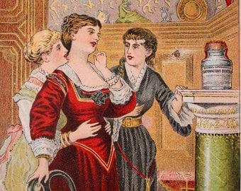 Victorian Trade Card for Brown's Dentifrice, Quack Medicine