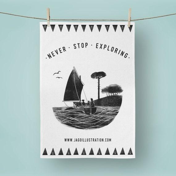Wildcat Island - Tea Towel