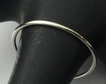 Platinum band, platinum ring, skinny band, thin platinum ring, 950 platinum, halo ring
