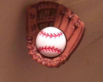 Baseball Catchers Mitt Earrings