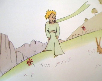 The Little Prince, in French, Le Petit Prince, 1943, Saint-Exupery, early edition, a wonderful gift, a rare find and very collectible