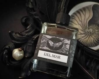 Del Mar Gypsy Apothecary Alchemy Natural  Perfume Oil 1/2 oz Chamomile,Ylang Ylang, White Tea, Sandalwood,Oakmoss, Lime