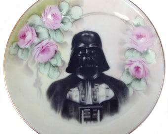 "Darth Portrait Plate 6.75"""