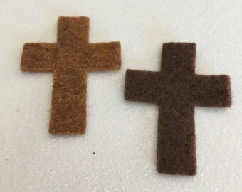 Felt Crosses-Felt-Fetti Cross Shapes-Die Cut Cross-Sunday School-Cross Pocket Inspirations-DIY Felt Kit-VBS-Planners-Bible Journaling
