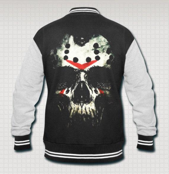 Jason Skull Friday the 13th Varsity Jacket