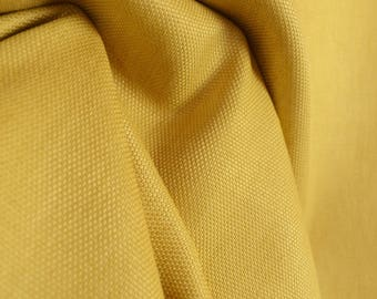 Vail Daffodil Gold Solid Fabric