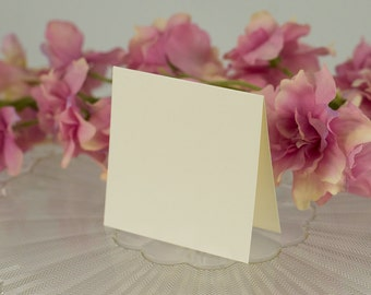 Blank, Square Seating Card