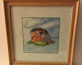 Disney Winnie The Pooh Framed Picture UNDER 20