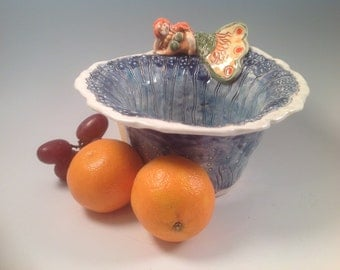 Mermaid/mermaid bowl/pottery bowl/bowl/ceramic bowl/mermaids/handmade bowl/serving dish