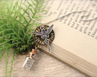 Fairy Pixie Bottle Necklace