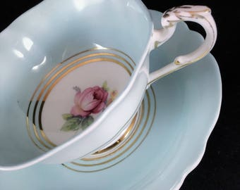 Vintage Tea Cup and Saucer Paragon English Fine Bone China