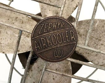 Vintage Fan Zephyr Airkooler Fan Metal Fan Industrial Fan