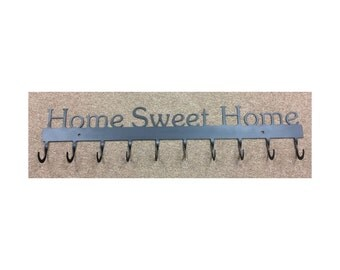 Coat Rack, Home Sweet Home, 10 Hook