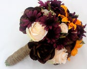 Custom Listing for Melissa - Premade Brides bouquet and 2 smaller bouquets