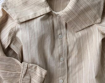 Vintage Boy's Shirt Circa 1900 Sailor Collar