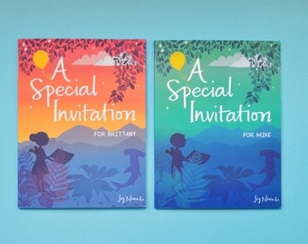 "Personalized Children's Book - ""A Special Invitation"", the Ultimate Gift for a Child"