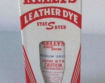 Vintage Kellys leather dye Purple