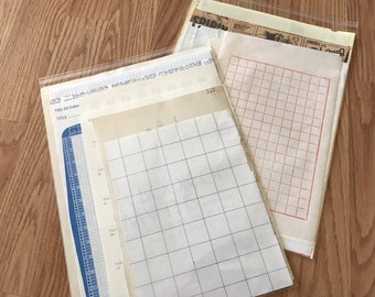 Vintage paper pack variety