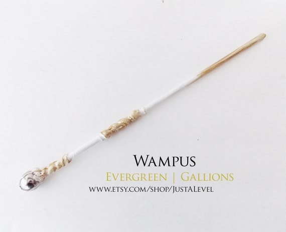 Winter white harry potter inspired wand wampus by justalevel - Coole wanddesigns ...