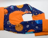 Space Time Maxaloones - Baby Leggings - Cloth Diaper Pants  - Toddler Pants - Grow with Me - Monkey Butt Pants - Baby Pants