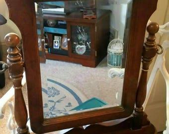 Vintage Vanity/Table top Mirror