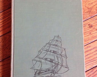 Vintage First Edition The Modern Wonder Book of Ships Carlisle 1947