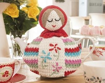 Babushka Russian doll amigurumi Tea cosy PDF crochet patten