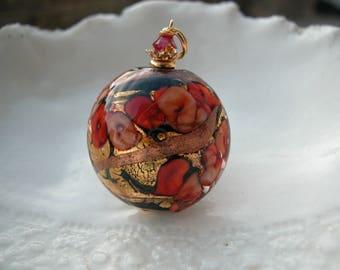 Black Necklace - Venetian Murano Glass