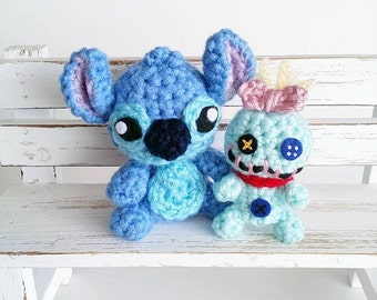 Lilo and Stitch Amigurumi