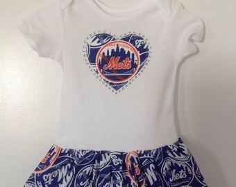 NY Mets Inspired Dress