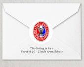 Envelope Seals - Eagle Scout Court of Honor Seals #2