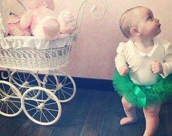 Kelly Green Tutu, Green Christmas Tutu, St.Patricks Tutu, Green Baby Tutu, Green Toddler Tutu, Green Girl's Tutu, Green Tutu Newborn-Girls 6