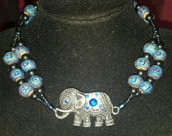 Boho Elephant Choker ~ New Listing at a Special Sale Price!