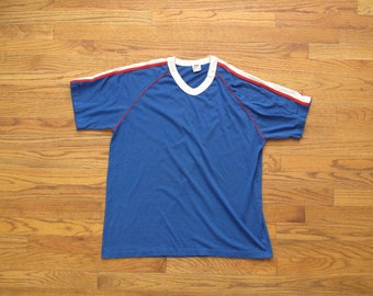 vintage Made in the USA Nike sportswear v neck shirt