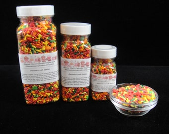 Mini flower sprinkles mini flower shaped quins can be used for Decorating quins