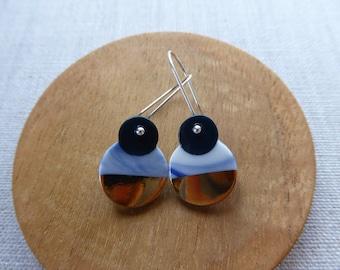 Daruma Hook Earrings