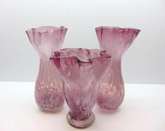 Vintage Purple Vases