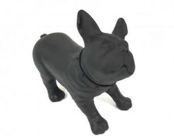 Black French Bulldog Statue **FREE SHIPPING**