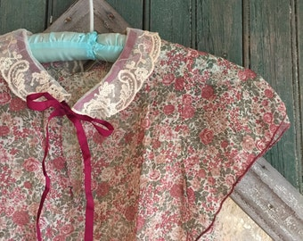 1930s Style Cotton Batiste Dress