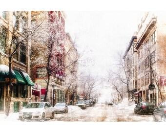 Winter on Albert