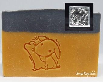 SoapRepublic Dog chewing bone Acrylic Soap Stamp