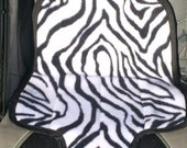 Waterproof Carseat Liner- Zebra