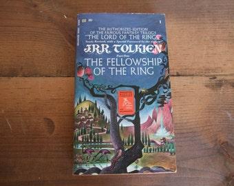 The Fellowship of the Ring J.R.R. Tolkien Ballantine Books