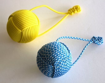 Paracord Dog Toy Medium to Large Dogs Throw Toy Tugging Toy 550 Paracord