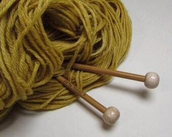 Mango Yellow Naturally Dyed Wool Yarn