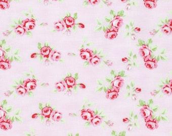 Rambling Rose - Pink Rosebuds by Tanya Whelan for Moda Fabrics