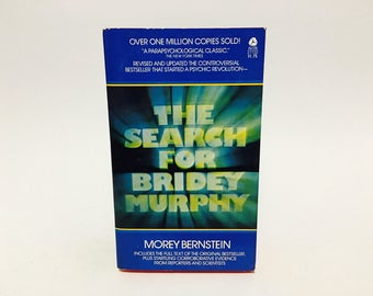 Vintage Occult Book The Search for Bridey Murphy by Morey Bernstein 1975 Paperback