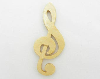 G Clef Cut Out, G Clef Magnet, G Clef Pin, G Clef Ornament, G Clef Decoration, Gift for Music Lovers, Music Gift, Music Teacher Gift
