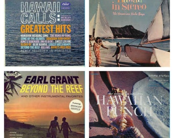 Hawaiian Vinyl Lot