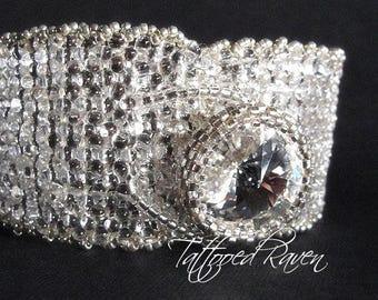 Silver Bling Petite Cuff Bracelet